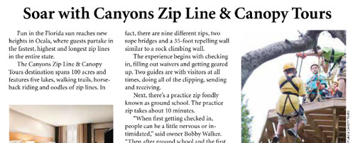 Florida Zipline Adventures | Orlando Zipline & Canopy Tours